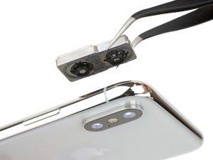 Замена камеры iPhone 10