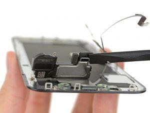 Замена слухового динамика iPhone X