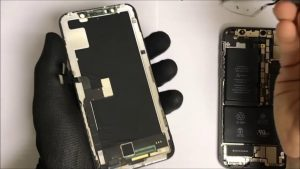 замена экрана айфон 10