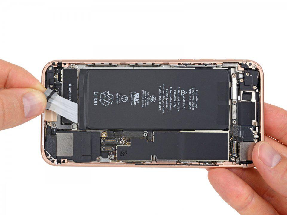 ремонт аккумулятора iphone