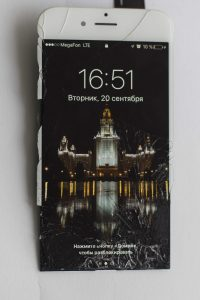 Повреждена рамка iphone