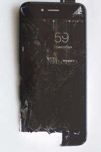 Пятна, полосы iphone