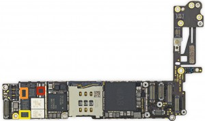 ремонт платы iphone