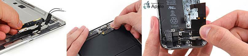 Неисправность шлейфа разъема зарядки на iphone