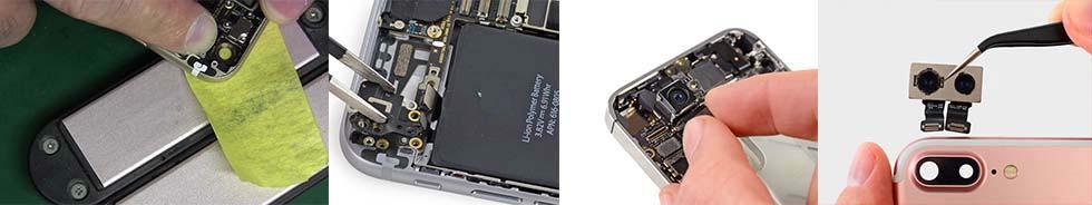 Замена камеры на iPhone