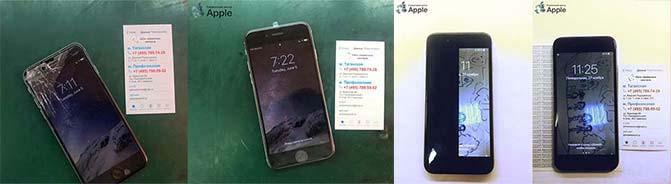 Замена стекла и экрана Айфон