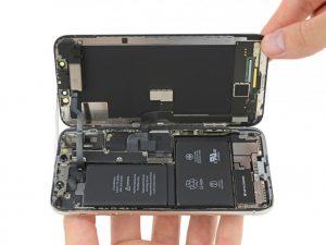 замена аккумулятора iphone икс