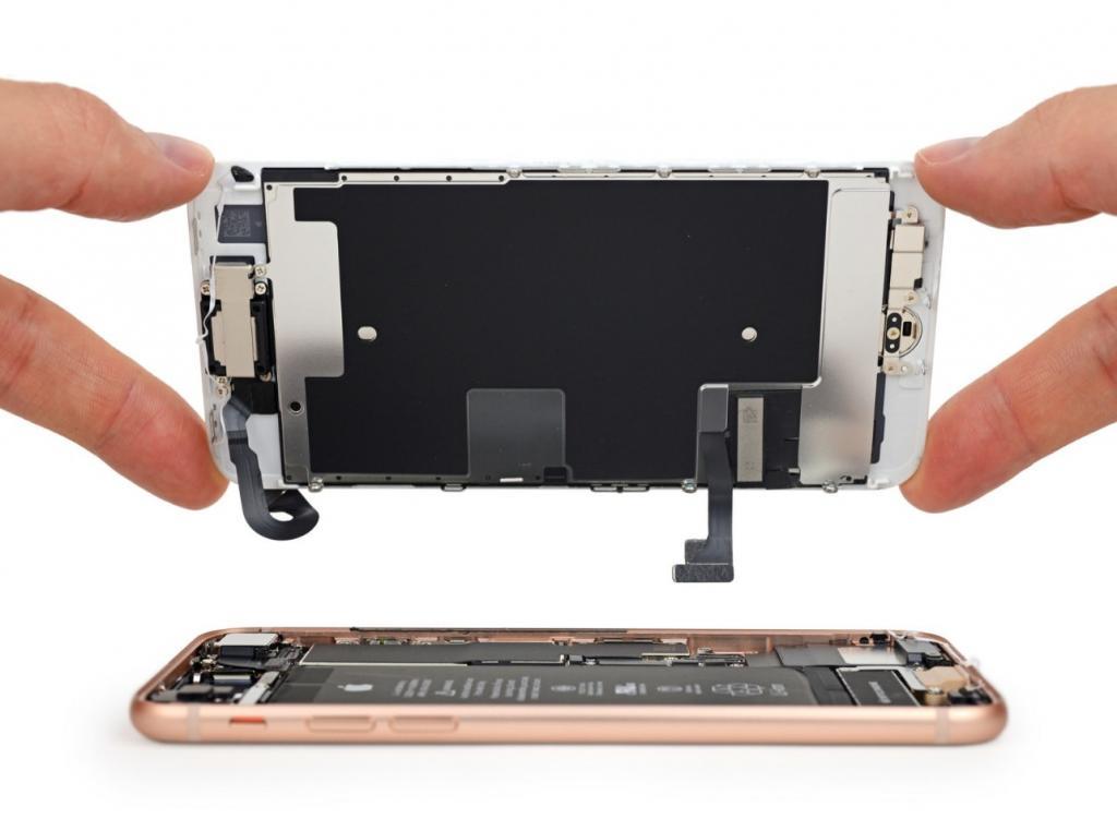 замена экрана айфон 8