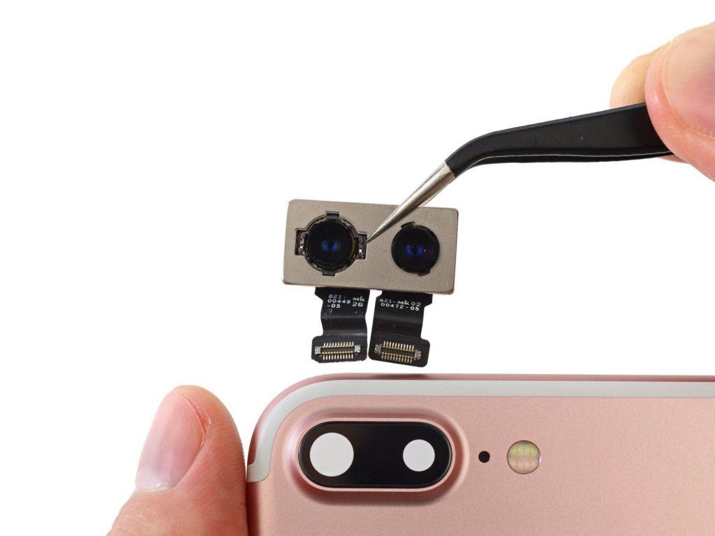 замена задней камеры айфон 7 плюс