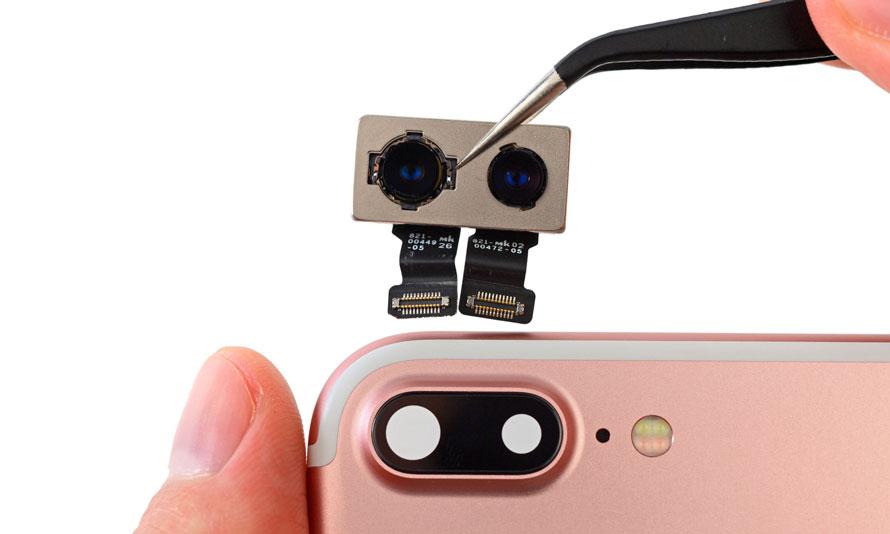 Замена задней камеры iPhone 8 Plus
