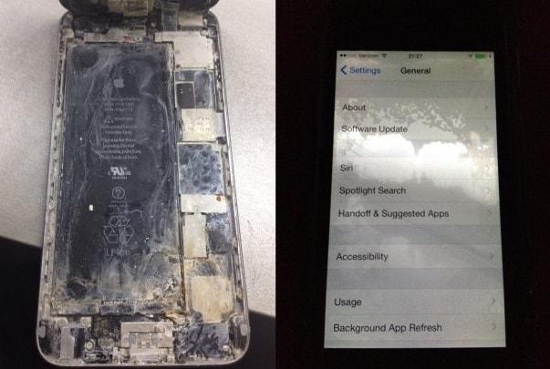 Чистка iPhone 6 Plus после воды