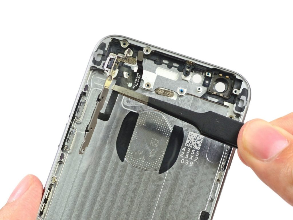 Замена кнопок громкости и переключения вибро iPhone 6