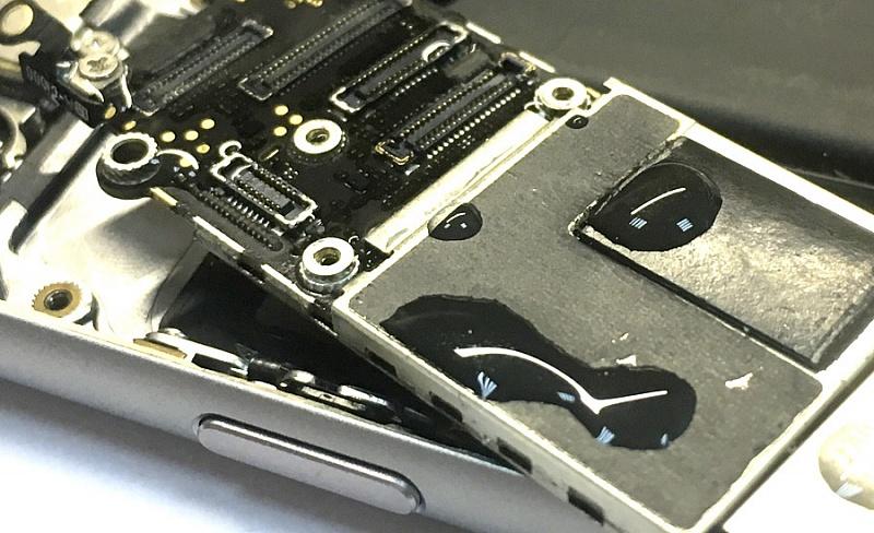 айфон 6 чистка после воды