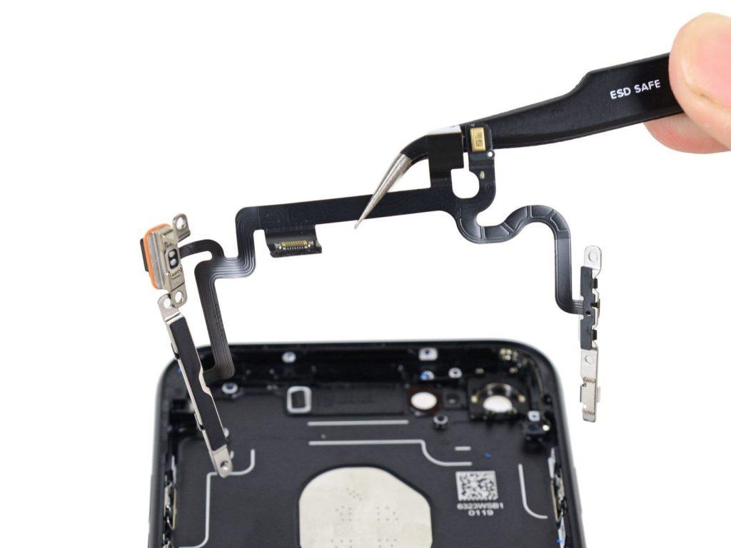 айфон 7 ремонт кнопки включения