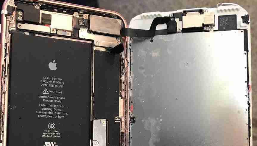 чистка после воды айфон 7 плюс