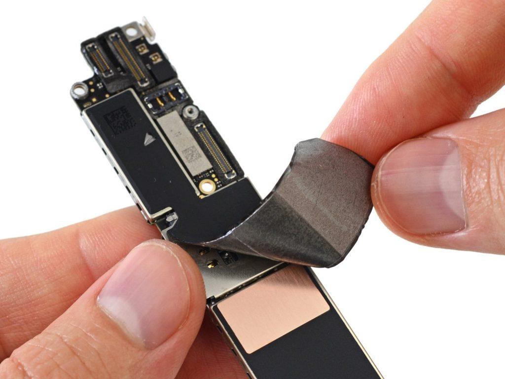 ремонт платы айфон 7 плюс