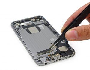 замена вибромотора iphone 6