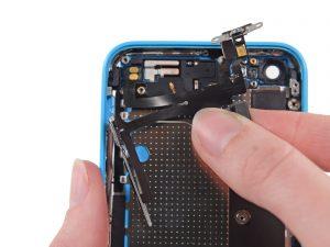 Ремонт кнопок громкости и переключения вибро iphone 5c