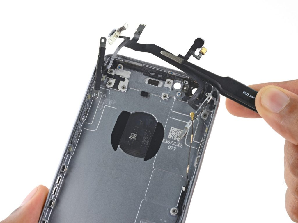 Замена кнопок громкости и переключения вибро iPhone 6S