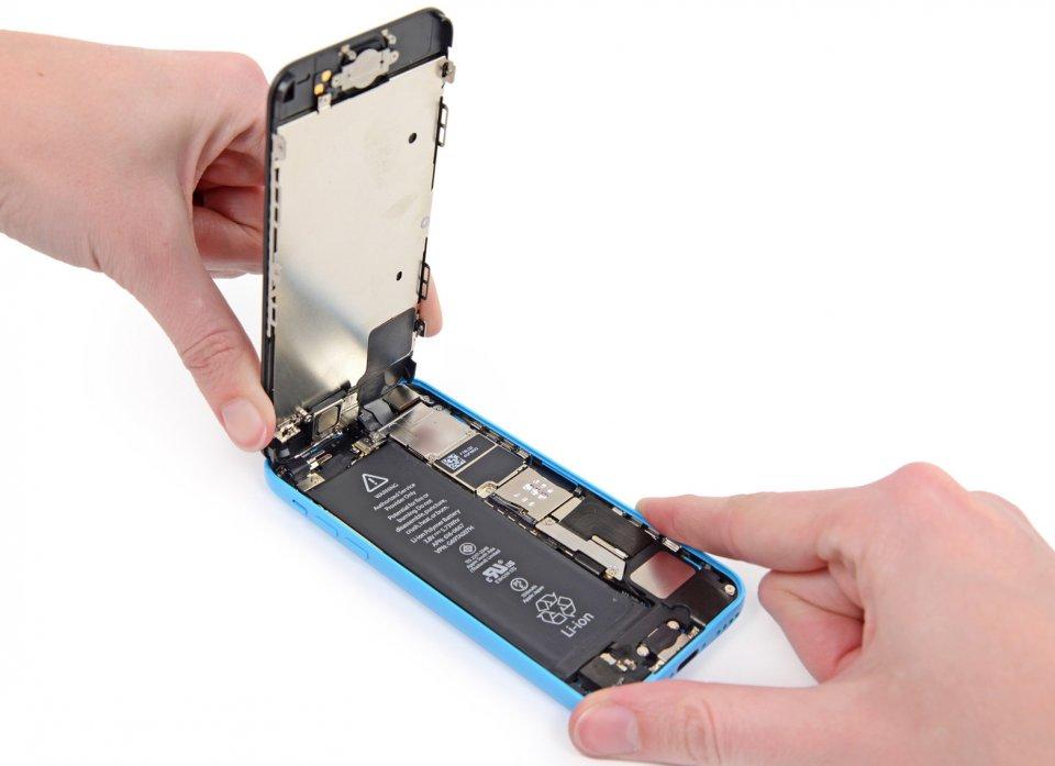 iphone 5c замена экрана