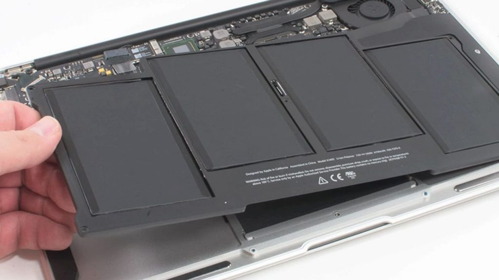 macbook air замена аккумулятора