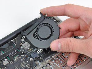 macbook air замена кулера